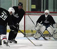 Hockey player that trained at Elite Sports Performance